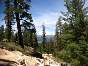 Mountain View of Lake Tahoe